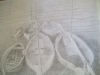 2012 Pencil Drawing 23x35 Boats,Sete.S.France